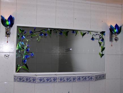 Грамотное использование зеркальных витражей для декорирования жилья