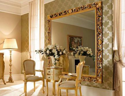 Итальянские зеркала от компании Нью Лайн