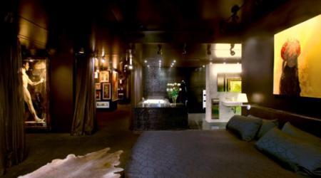 Квартира в стиле «черно-белое кино»