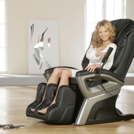 Массажное кресло - прекрасное решение для офиса и дома
