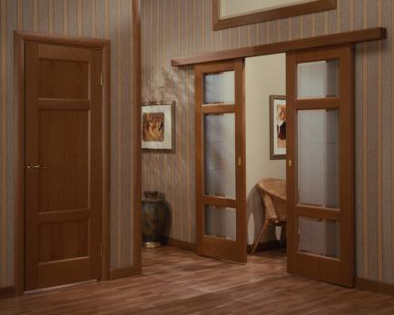 Межкомнатные раздвижные двери