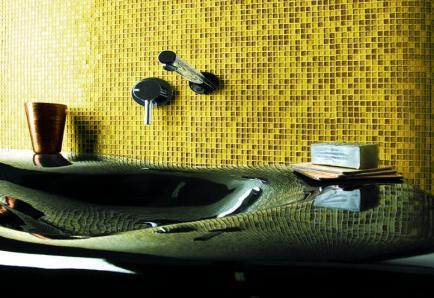 Мозаика в ванной своими руками