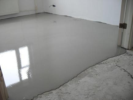 Особенности бетонных наливных полов