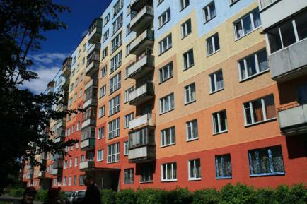 Покраска фасадов от ALP