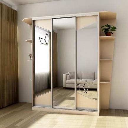 Шкаф-купе - прекрасное решение для спальни