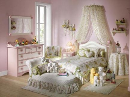 Спальня для девочки: как подобрать цвет