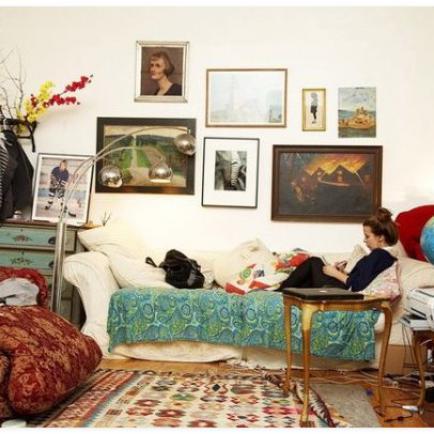 Спальня в чешском стиле