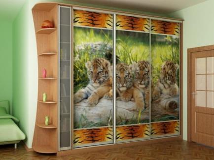 Тенденции в дизайне интерьера шкафов купе