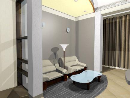 Декорирование интерьера помещения
