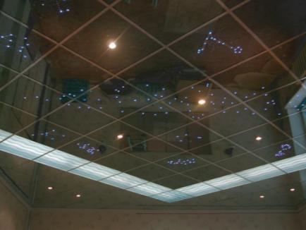 Декорирование помещений зеркалами