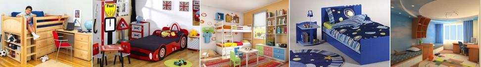 Детская мебель для мальчика: основные акценты