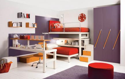 Дизайнерские решения для детской комнаты
