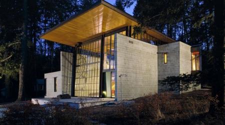 Дом за городом – единение с природой