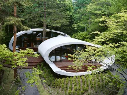 Экологические дома в гармонии с природой
