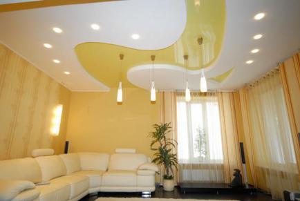 Где заказать натяжные потолки в Воронеже
