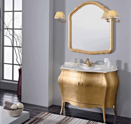 Итальянская мебель Gallo в интерьере ванной