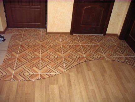 Как подобрать керамическую плитку и ламинат