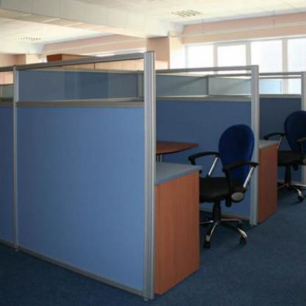 Каков офис без перегородок