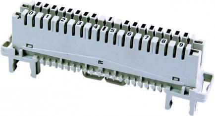 Короб монтажный пластиковый для телекоммуникационных и телефонных линий