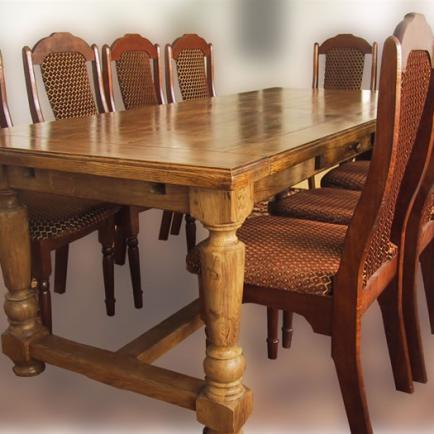 Кухонные столы из массива