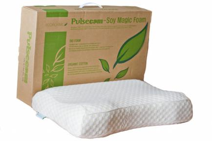 Латексная подушка из инновационных материалов