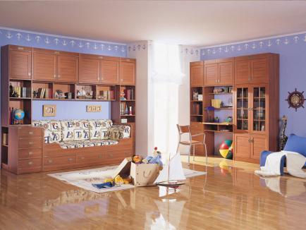 Мебель в комнате ребенка