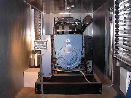 Монтаж и подключение дизельных электростанций