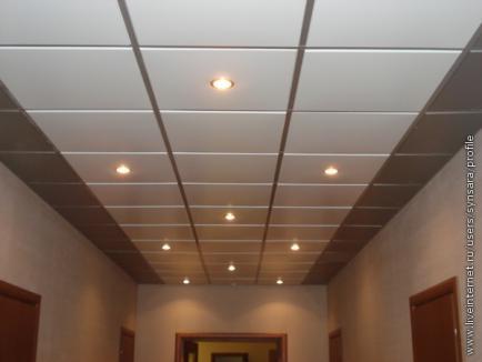 Монтирование подвесного потолка АМF