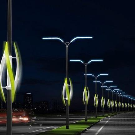 Опора освещения - основа уличного прожектора