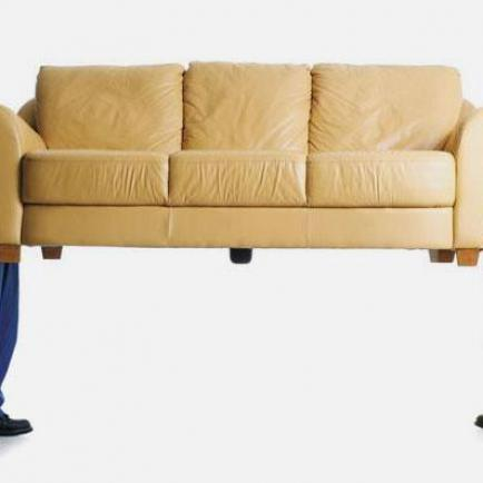 Перевозим кожаную мебель