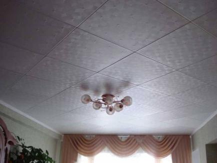 Потолочная плитка для отделки потолка
