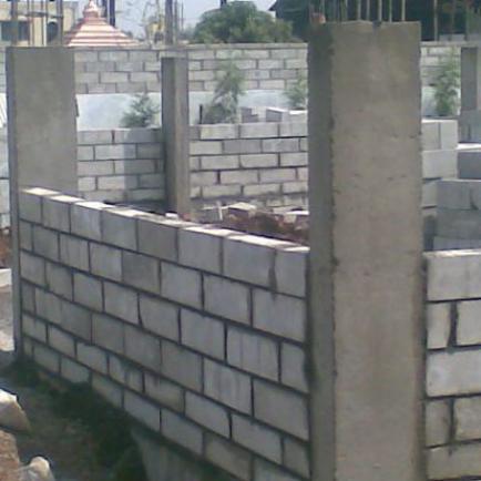 Самостоятельное строительство дома из пеноблоков