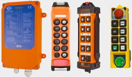 Системы радиоуправления тельфером