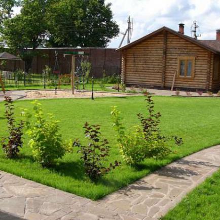 Загородный участок - планирование построек и сада